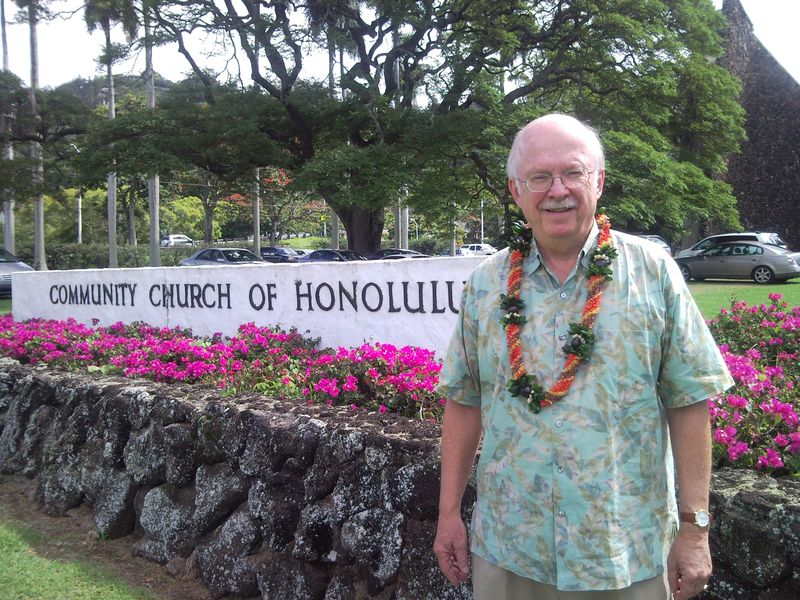 Ronald White at The Community Church of Honolulu